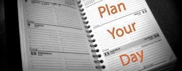Top 4 tips on how to plan your day and how to be more productive and get work efficiency