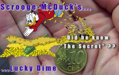 The Secret revealed of Scrooge McDuck's Lucky Dime